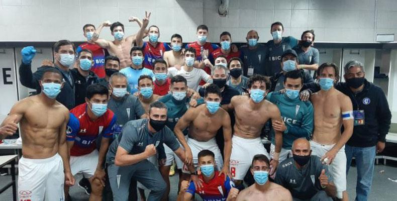 A días de crucial duelo por Sudamericana: crack de la UC tiene covid y enciende las alarmas