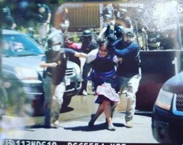 Detienen a madre y viuda de Camilo Catrillanca en  Ercilla