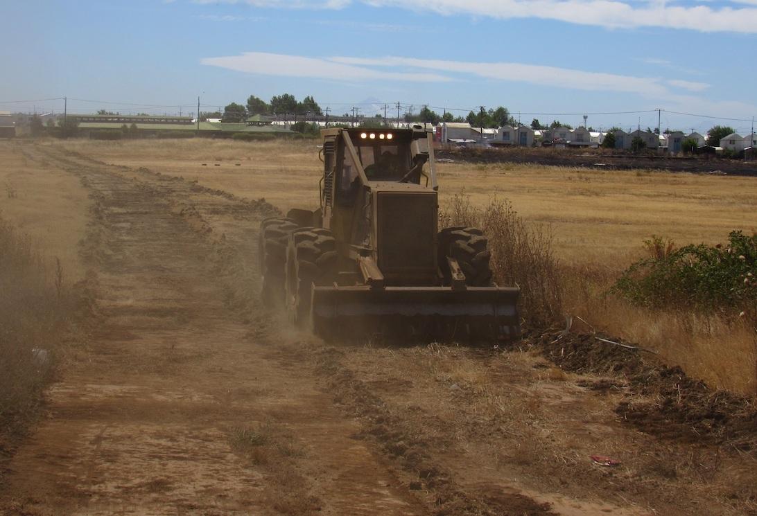 Los Ángeles: Más de 20 km de cortafuegos ha construido Conaf en zonas de interfaz