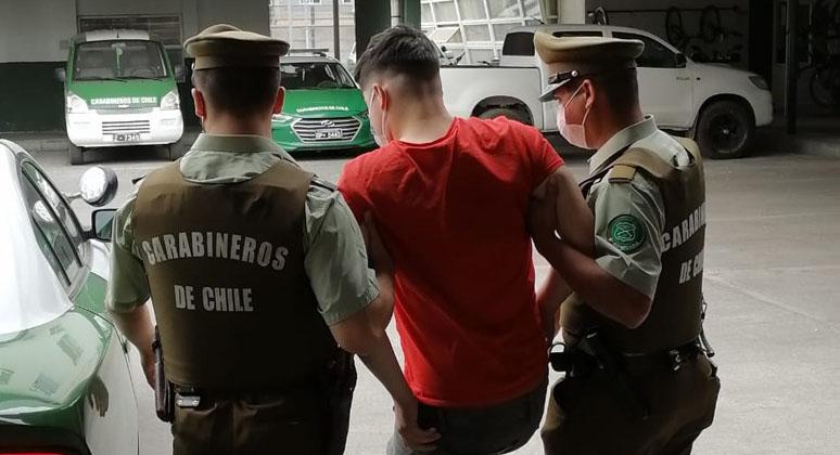 San Pedro de la Paz: sujeto de 17 años es detenido por homicidio y porte de municiones