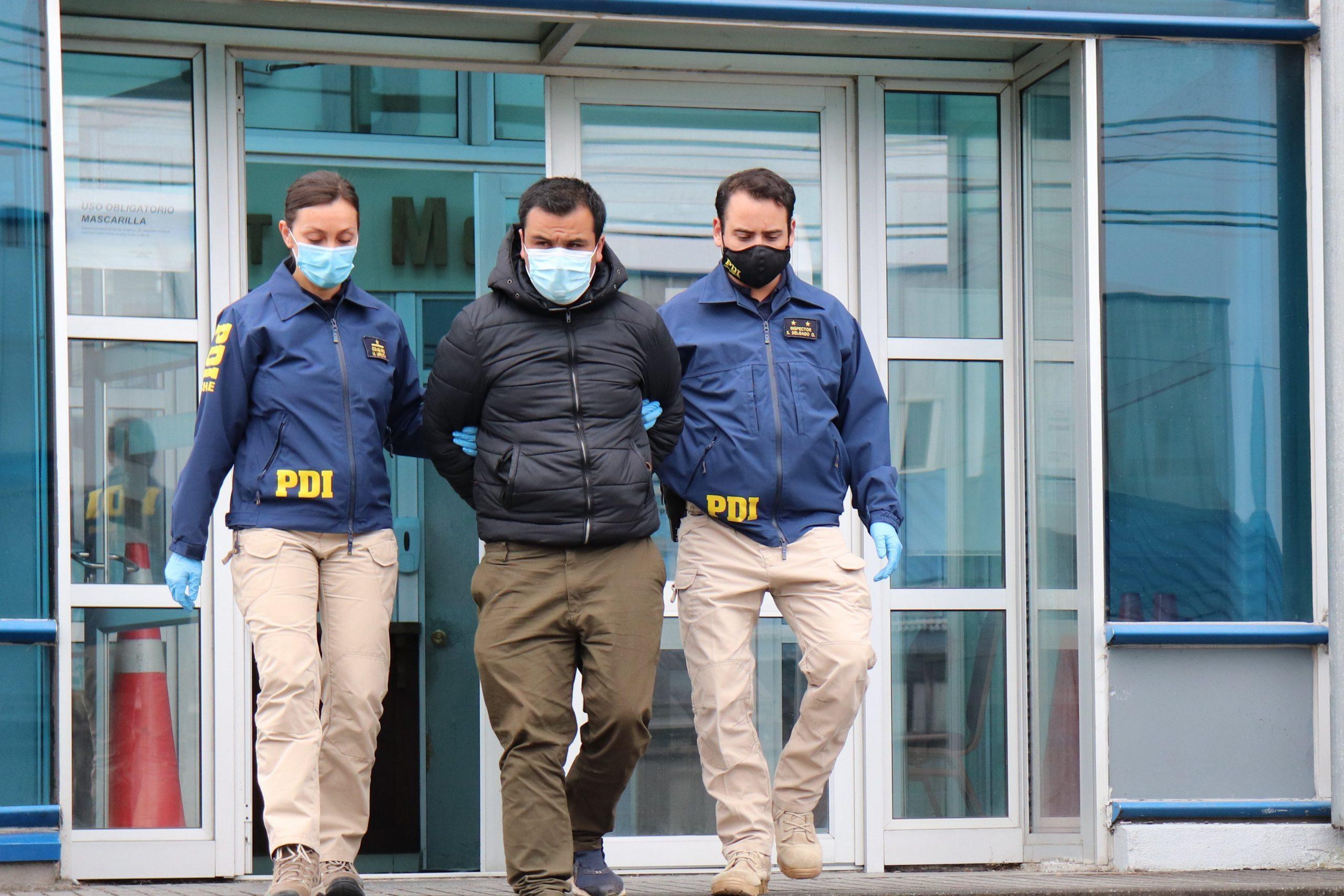 Bombero y funcionario Onemi acusado de provocar incendio forestal quedó en prisión preventiva