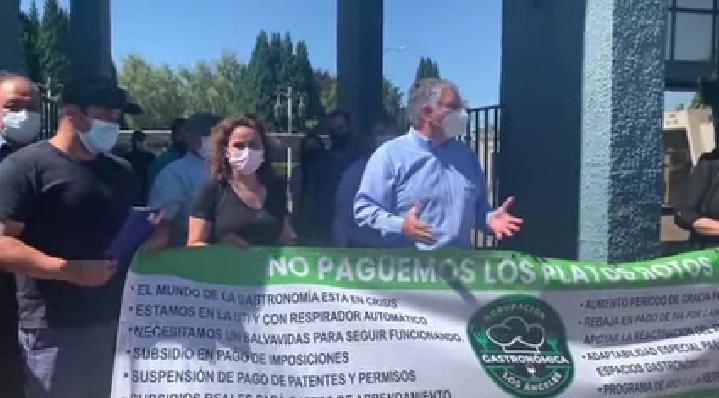 Los Ángeles: comerciantes del rubro gastronómico piden un respiro de las cuarentenas