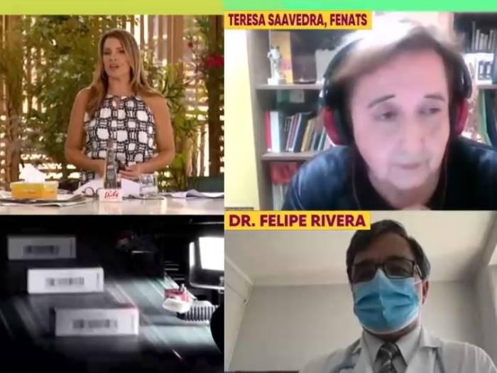Rechazo a la vacuna china de Teresa Saavedra (Fenats) generó críticas en redes sociales