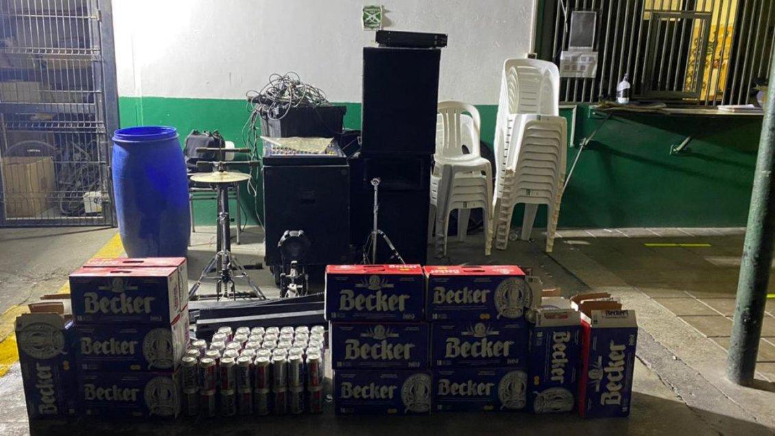 27 extranjeros detenidos por fiesta clandestina en Calama