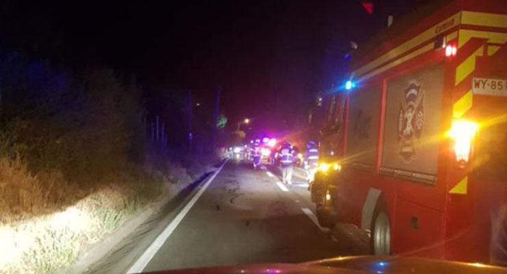 Trágico accidente vehicular: tres adultos y dos menores fallecieron
