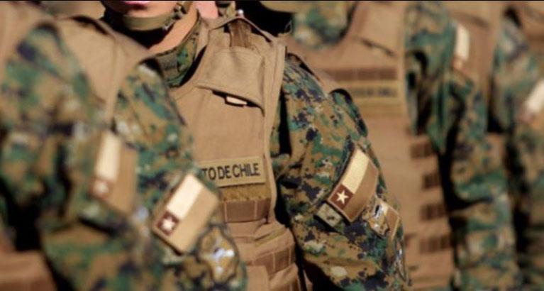 Militar en riesgo vital tras recibir cerca de 7 puñaladas por un miembro de la FaCh