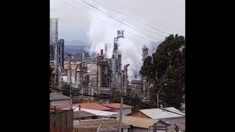 Refinería ENAP descartó que emergencia en Concón haya sido una explosión