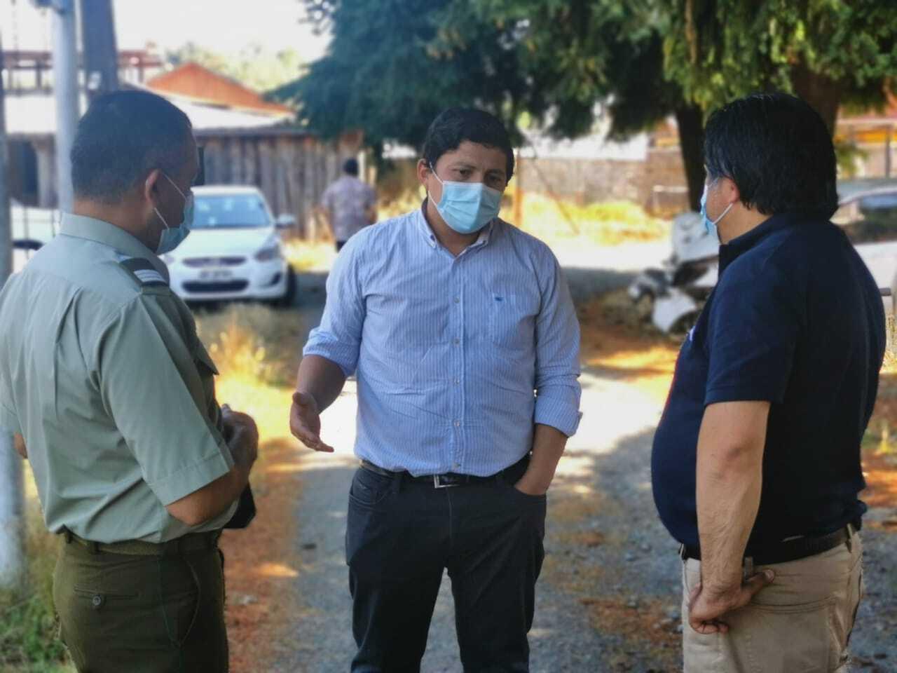 Mulchén en cuarentena: 21 vehículos y 10 peatones fueron devueltos a sus domicilios tras fiscalizaciones