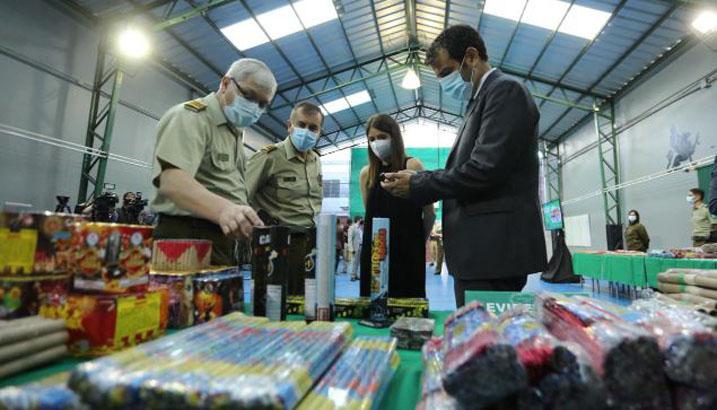 Gobierno y ley contra pirotecnia ilegal: «En los próximos días se va a promulgar»