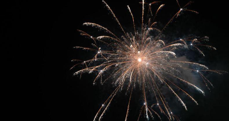 Fuegos Artificiales marcan el Año Nuevo: provocaron diversos incendios en en país