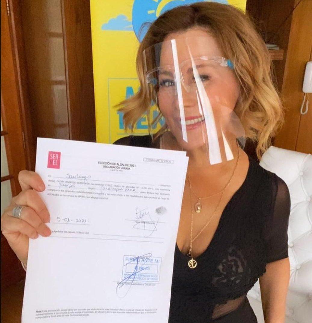 «Estaré donde me lo pidan»: seguidores de Cathy Barriga la quieren de presidenta
