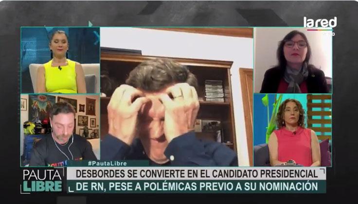 Carlos Larraín se va de programa por preguntas sobre su hijo: «Tiene derecho a seguir viviendo»