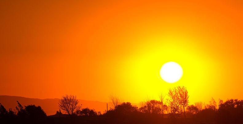 Aviso meteorológico: evento de altas temperaturas se sentirá en la Región del Biobío
