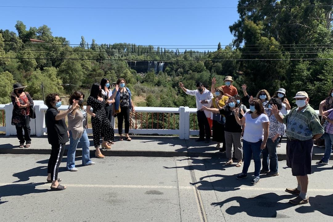 Se dio vuelta la tortilla: límite entre Cabrero y Los Ángeles afectará nuevamente a comerciantes