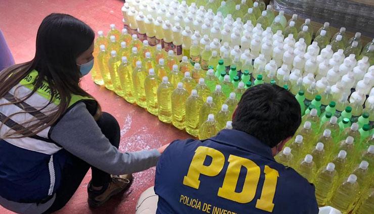 Clausuran fabrica de limpieza en Cañete: desde octubre no tenía permiso para funcionar