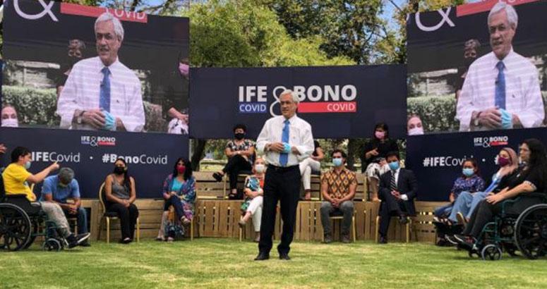 Piñera anuncia 3 nuevos bonos por la pandemia: revisa si te corresponde alguno