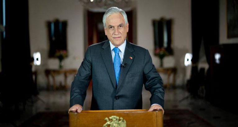 Presidente Piñera: «Estamos experimentando un preocupante rebrote»