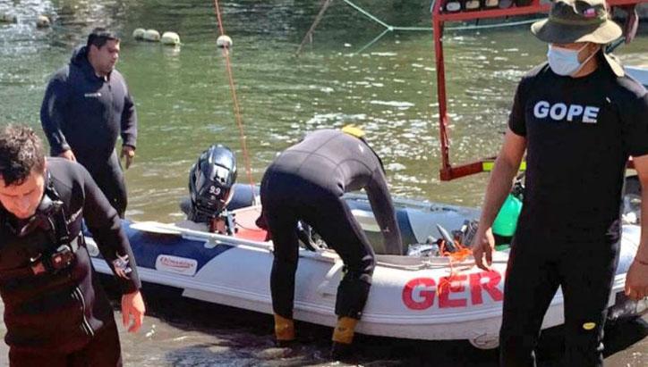 Encuentran el cuerpo de adulto mayor que cayó de un kayak a la laguna Avendaño