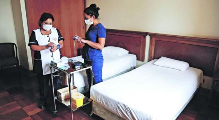Desde que inició la pandemia: Residencias Sanitarias alcanzan récord de ocupación