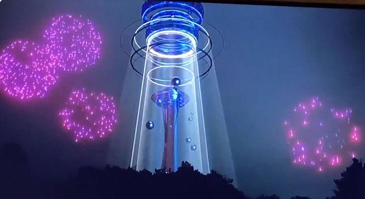 Para erradicar los Fuegos Artificiales: show visual de Año Nuevo deslumbró al mundo