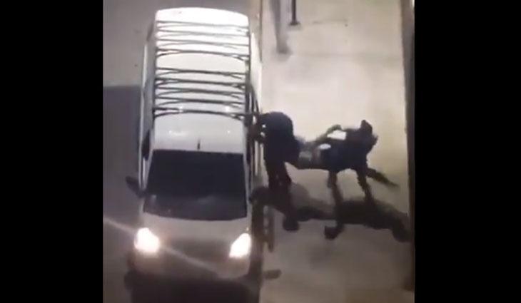 No era secuestro: hombre subido a la fuerza a un furgón era paciente psiquiátrico