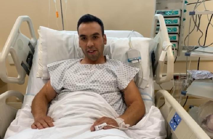 «De aquí voy a salir caminando»: el emotivo mensaje del soldado que le amputaron sus piernas en Curicó