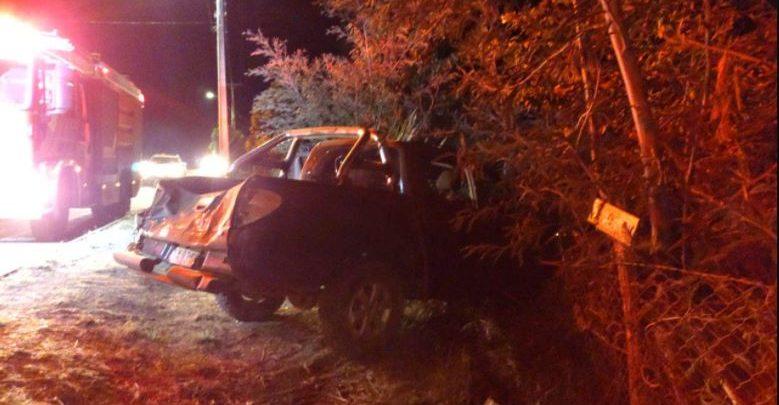 Tucapel: accidente vehicular dejó a una persona fallecida