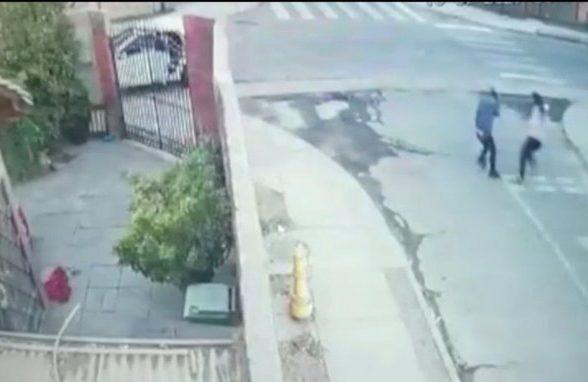 No lo vio venir: asaltante resultó baleado tras intentar robar a funcionaria de PDI