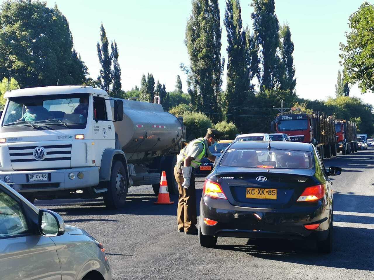 San Sebastián: más de 80 vehículos han sido devueltos a sus ciudades desde Yumbel