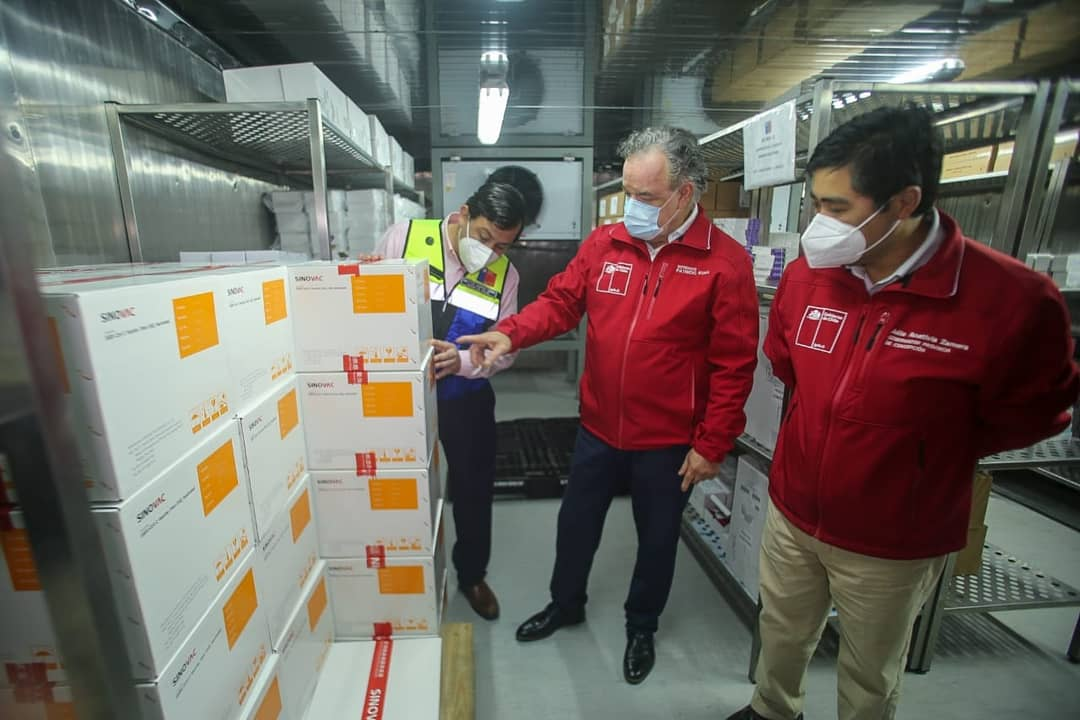 Más de 55 mil primeras dosis se han suministrado en el Biobío