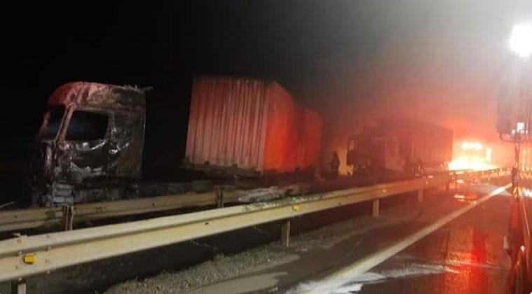 Gobierno y ataque incendiario en Ruta 5 Sur: «Hay intereses ligados al narcotráfico»