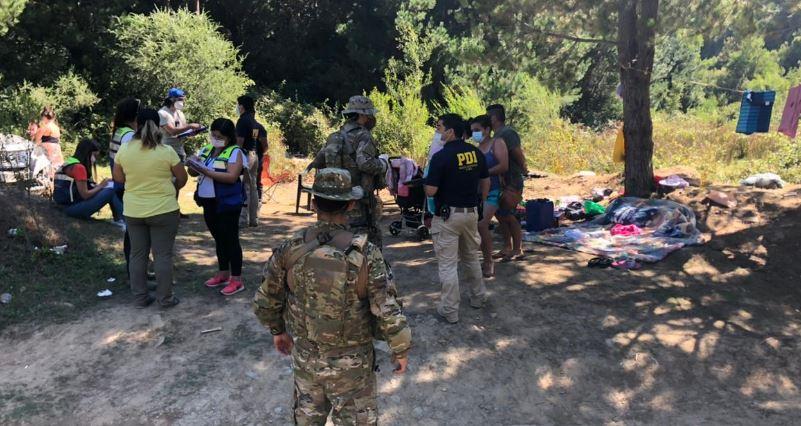 Curanilahue: fiscalización en lugares de veraneo dejó a 34 personas detenidas