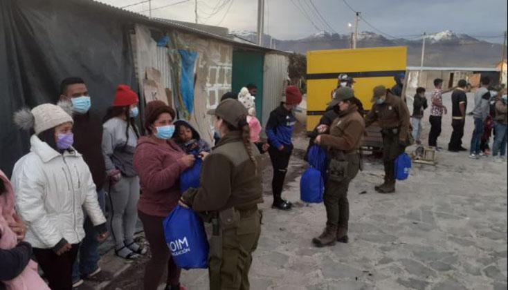 Comenzó plan por crisis migratoria: más de 100 personas serán expulsadas del país