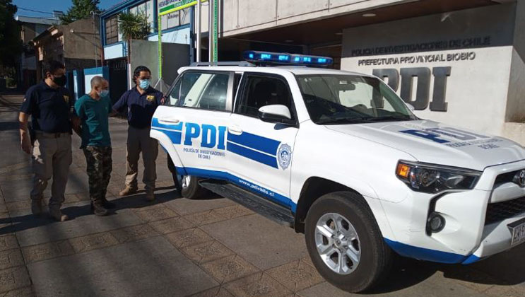 Los Ángeles: detienen a sujeto que participó en homicidio ocurrido en Pedregal