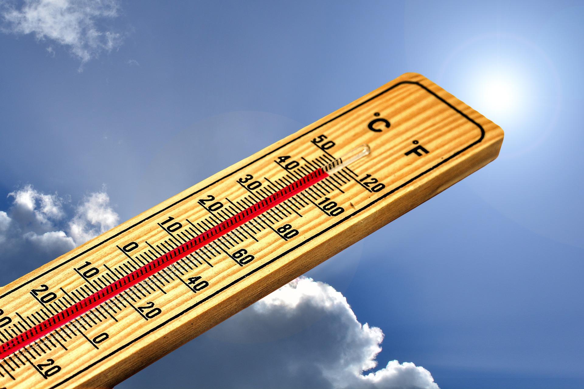 Termómetros superaron los 40 grados en Los Ángeles