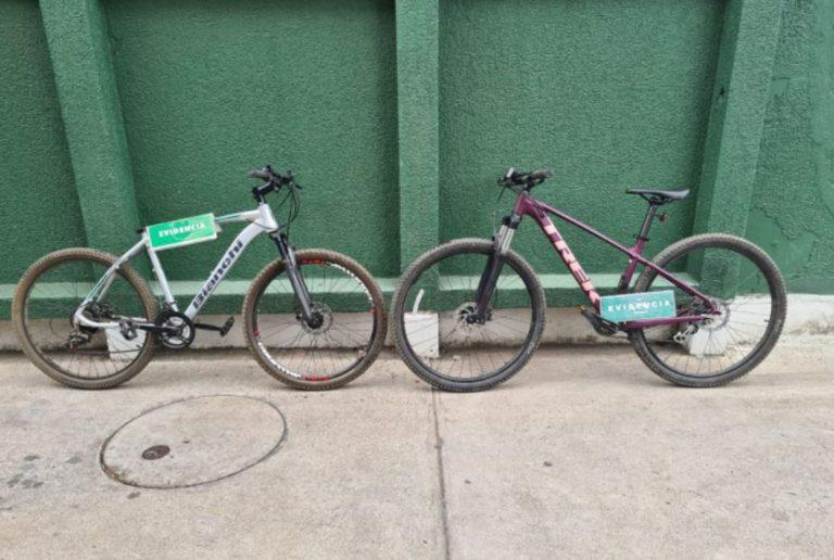 Los Ángeles: mujer es detenida por la receptación de dos bicicletas