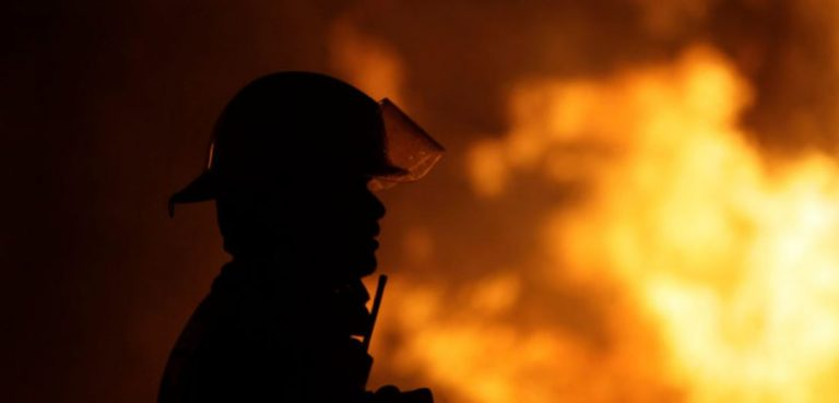 Incendio consumió una casa en Mulchén: hombre de 60 años falleció en el inmueble